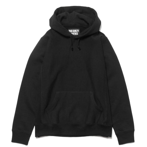 wacko maria Heavy Weight Pullover Hooded Sweat Shirt (Type-5) Black