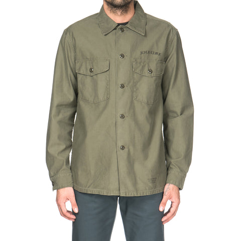 wacko maria Old Army Shirt (Type-7) Khaki