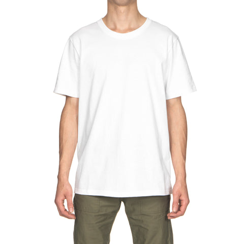 wacko maria Over Size Crew Neck T-Shirt (Type-7) white