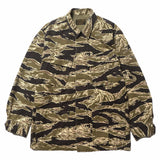 x Tim Lehi Jungle Fatigue Jacket Tiger Camo