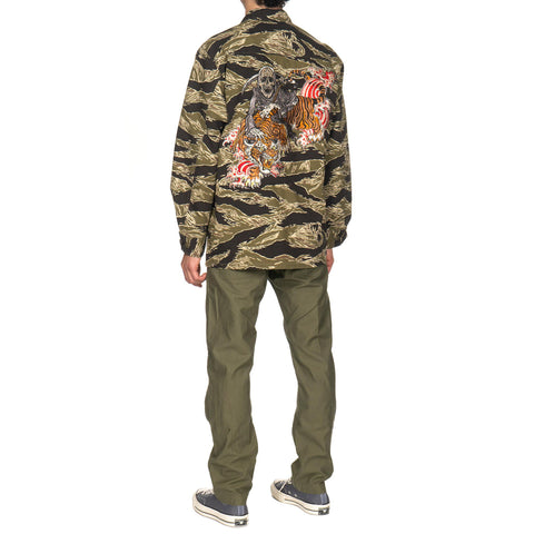 wacko maria x Tim Lehi Jungle Fatigue Jacket Tiger Camo