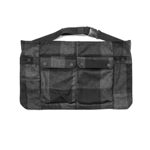 White Mountaineering Buffalo Check Waist Bag