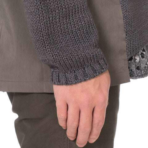White Mountaineering Contrast Knit