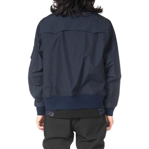 White Mountaineering CORDURA® MA-1 Navy