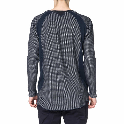 White Mountaineering Raglan Contrasted Long T-Shirt