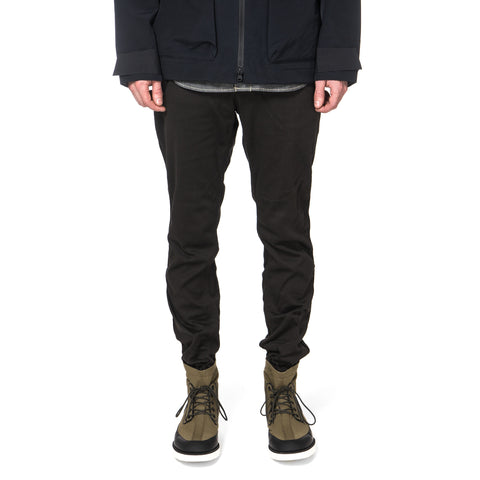 White Mountaineering Raschel Puckering Easy Pants Black