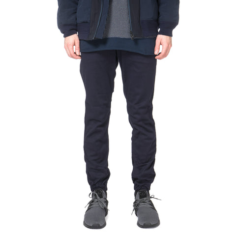 White Mountaineering Raschel Puckering Easy Pants Navy