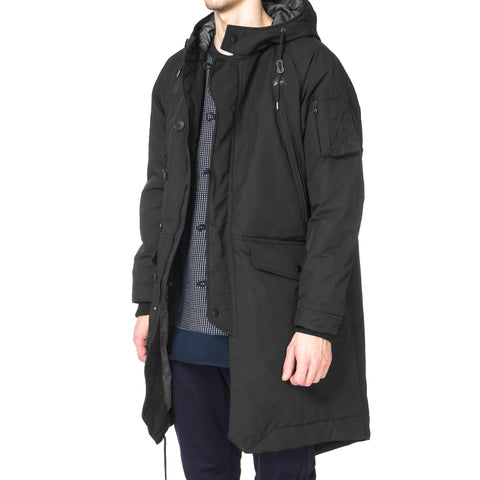 White Mountaineering WINDSTOPPER® Ester Oxford Primaloft Military Coat