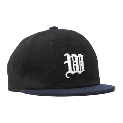 White Mountaineering WM Embroidered Baseball Cap Black