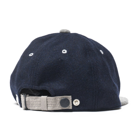 White Mountaineering WM Embroidered Baseball Cap Navy