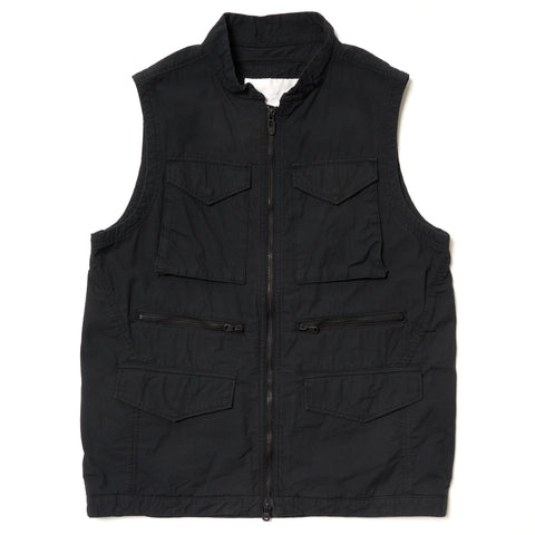 White Mountaineering Cotton Nylon Military Vest