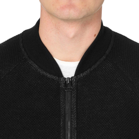 Wings+Horns Honeycomb Knit Bomber