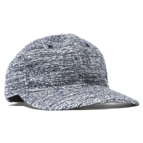 wings + horns Loop Knit 6 Panel Hat Static Navy