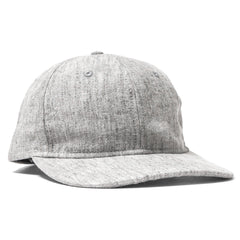 wings + horns Washed Linen 6-Panel Hat