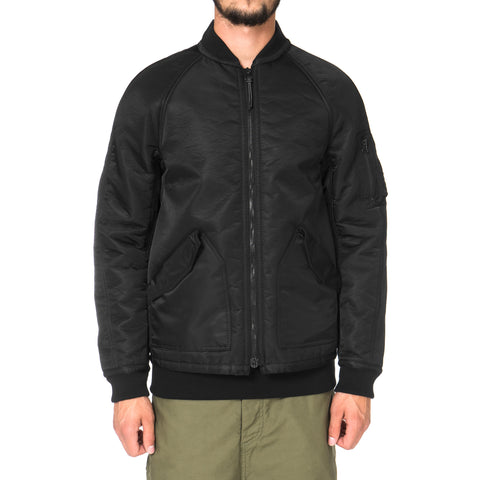 wings + horns Satin Sherpa Bomber