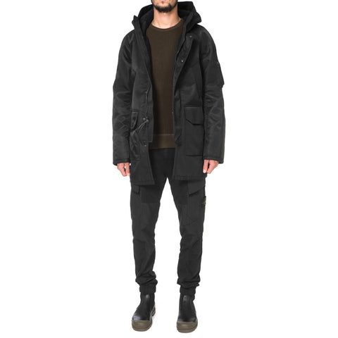 wings + horns Satin Sherpa Parka