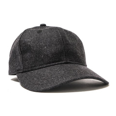 wings + horns Schoeller 6-Panel Cap Black