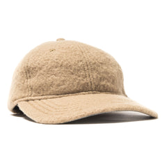 wings + horns Sherpa Wool 6-Panel Hat Straw