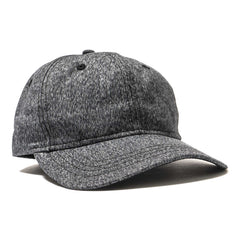 wings + horns Static Twill 6-Panel Hat Black/White