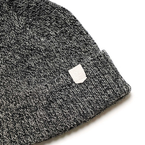 Maple Wool Knit Beanie Heather Gray