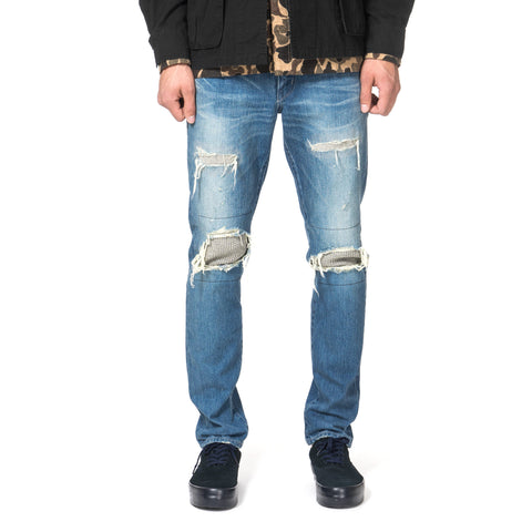 wtaps Blues. Very Skinny. Trash / Trousers. Cotton. Denim. Trash
