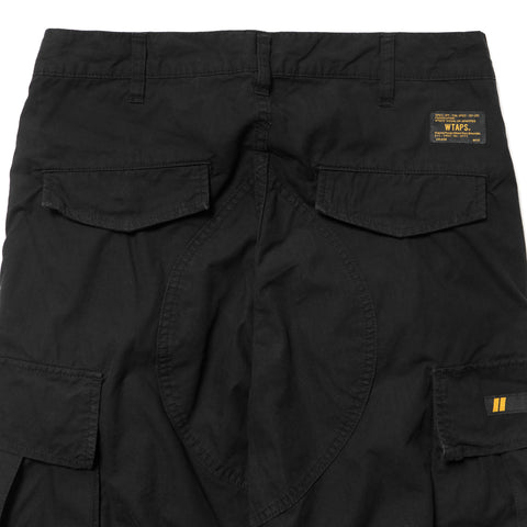 wtaps Jungle. Stock / Trousers. Cotton. Ripstop black