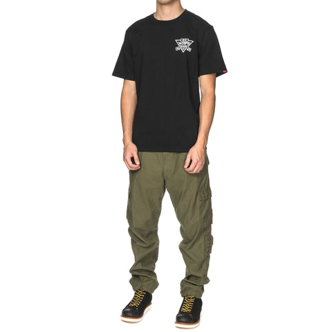 WTAPS No Limits Tee Black