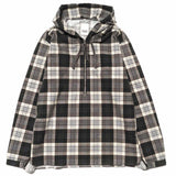 Plaid Hooded Pullover 925 Shirt