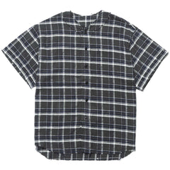 YSTRDY'S TMRRW Plaid Play Ball Shirt Charcoal