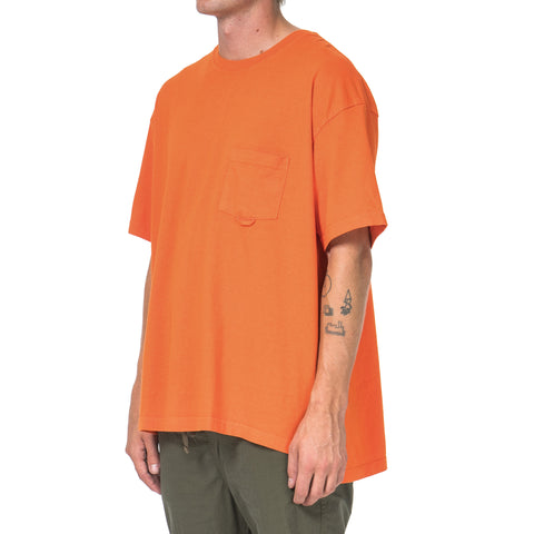 YSTRDY'S TMRRW S/S Baggy Tee Orange