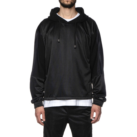 YSTRDY'S TMRRW Hooded Track Top by STARTER Black