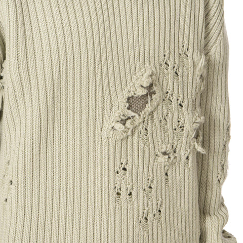YEEZY Destroyed Military Rib Sweater