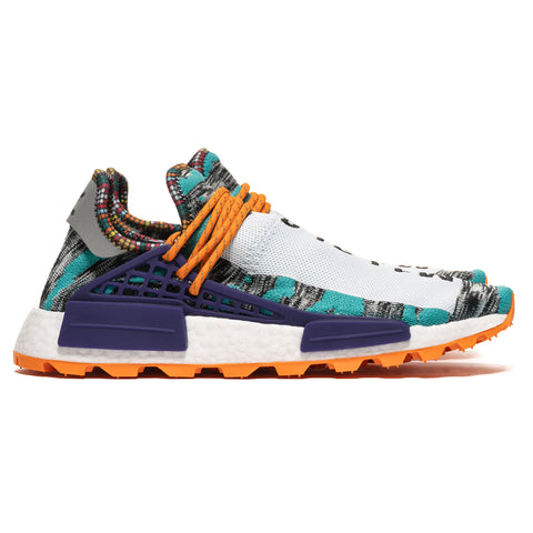 9cdc75dafc5 ... x Pharrell Williams Afro HU NMD Black Purple Orange  Adidas ...