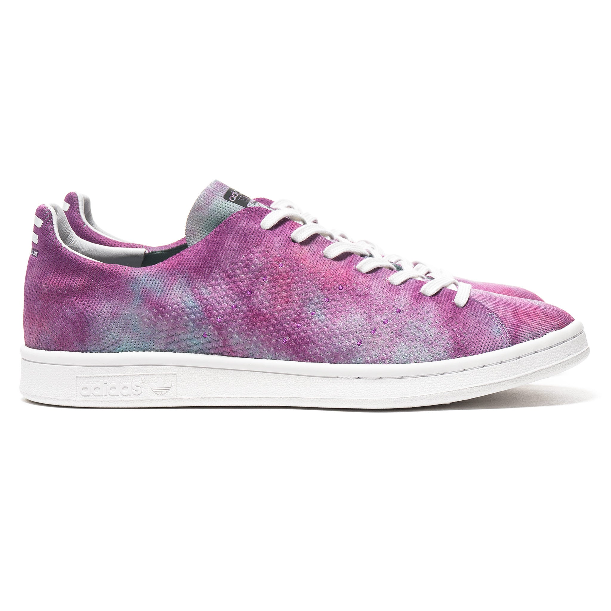 huge selection of 419f6 cc480 x Pharrell Williams HU HOLI Powder Dye Stan Smith Purple