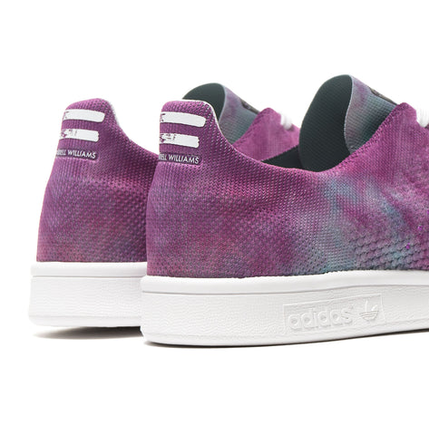 adidas x Pharrell Williams HU HOLI Powder Dye Stan Smith Purple, Footwear