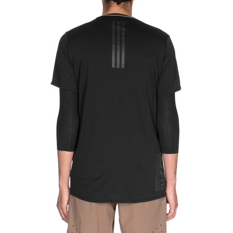 adidas x UNDEFEATED ASK Tec Tee 3/4 Black