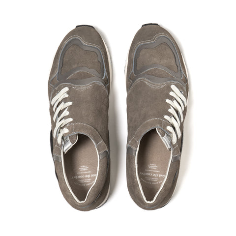 foot the coacher -F.A.S.t- series side lace. Gray