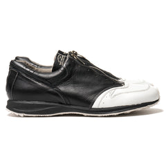 foot the coacher -F.A.S.t.- series 1603 front zip Black/White