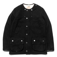 foot the coacher Resistance Jacket Black Wool