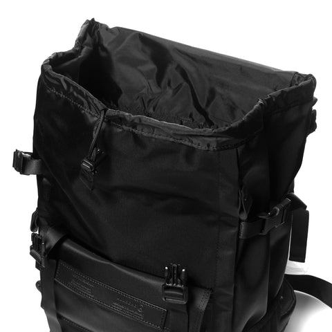 x PORTER Back Pack Black Nylon