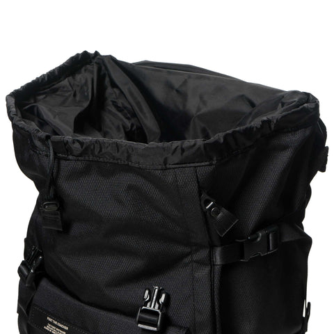 foot the coacher x PORTER Back Pack Black Ripstop