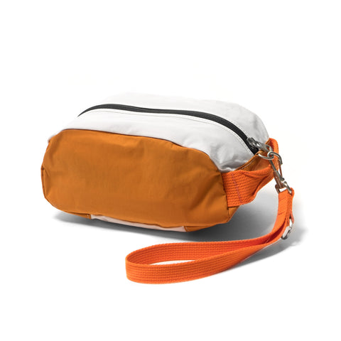 hobo Cotton Nylon Grosgrain Pouch Orange