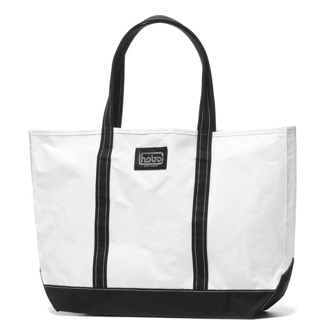hobo Cotton Nylon Grosgrain Tote Bag M Black