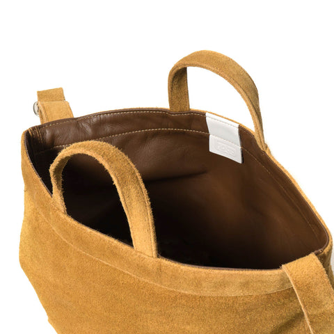 hobo Cow Leather 2way Tote Bag M 11L Beige