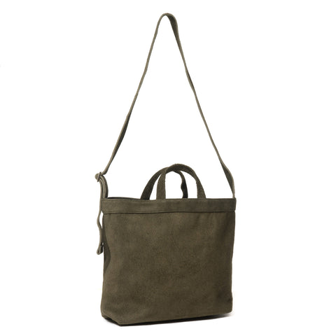 hobo Cow Leather 2way Tote Bag M 11L Olive
