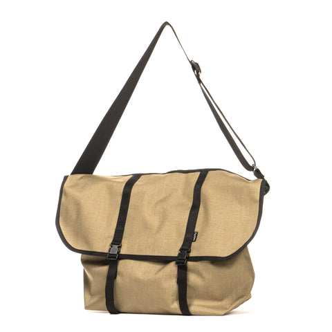 hobo Nylon Oxford Shoulder Bag Beige