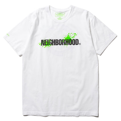 NEIGHBORHOOD Reign / C-Tee . SS White, T-Shirts