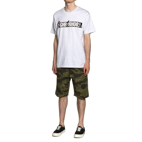 NEIGHBORHOOD Rattlesnake-1 / C-Tee. SS Gray, T-Shirts