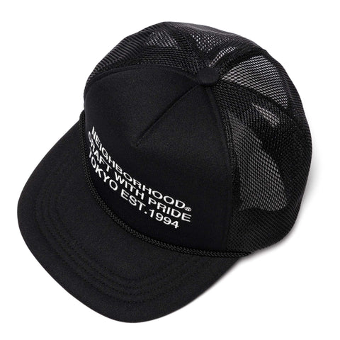 NEIGHBORHOOD Tracker-E / E-Cap Black, Headwear