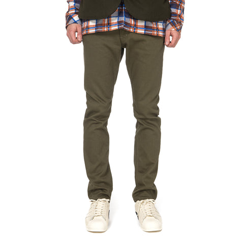 nonnative Dweller 5P Jeans Usual Fit Cotton Pique Overdyed